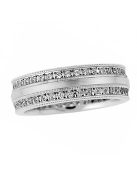 Endless Designs Diamond Wedding Band U1372