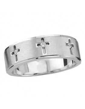 Endless Designs Diamond Wedding Band U5276