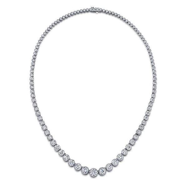 Graduating Diamond Necklace by NINACCI featuring 105 diamonds 22805