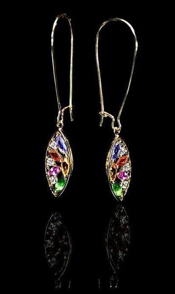 Bayside Jewelers sells Philip Zahm Colorful Gemstone Sainte Chapelle Earrings E52
