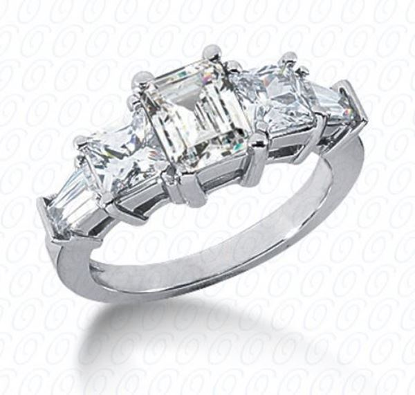 ENR2796 Semi Mount Diamond Engagement Ring Designed by Unique Settings of New York, Sold by Bayside Jewelers, Bellingham, WA