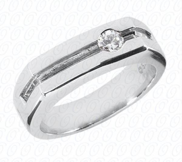 MR138 Men's Diamond Studded Ring by Unique Designs of NY