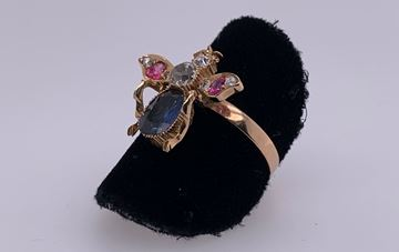 Picture of 14K Bumble Bee Ring