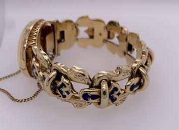 Picture of 14K Yellow Gold Locket Bracelet