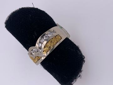 Picture of Lady's Custom Design 14K White Gold Band