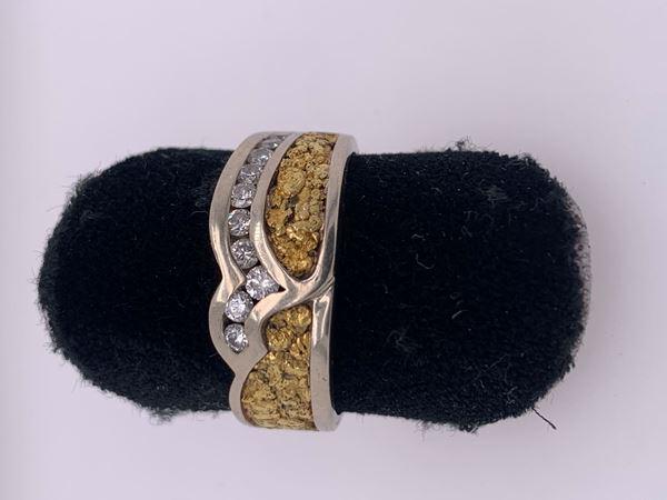 Picture of Men's Custom 14K White Gold Band