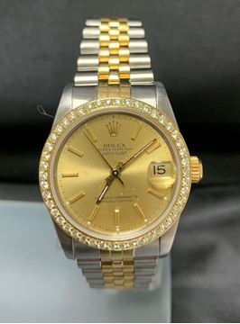 Picture of 1989 Rolex Oyster Perpetual Diamond Dial