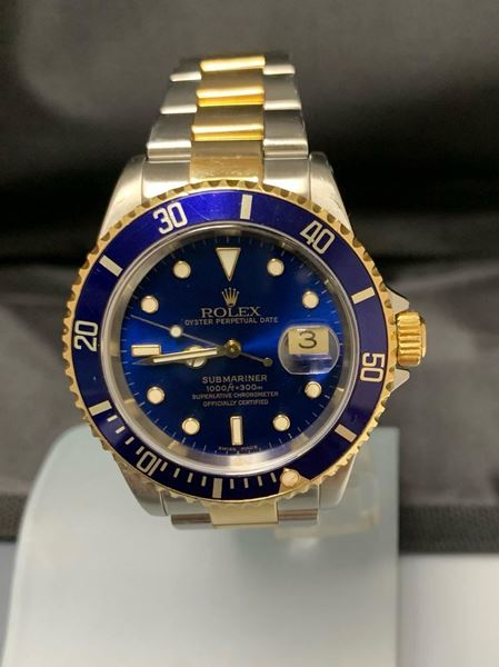 Picture of 1999 Men's Rolex Bluesy Two Tone Submariner