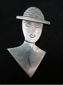 Picture of Sterling Silver Brooch