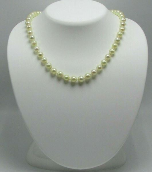 Picture of 14K Gold Clasp Pearl Necklace
