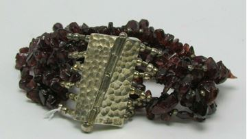 Picture of Sterling Silver Amethyst Bracelet