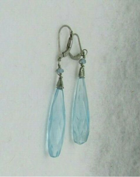 Picture of Sterling Silver Quartz Earrings