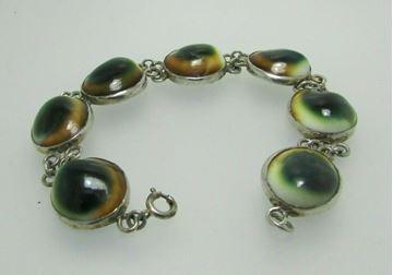 "Picture of 8 1/2"" Sterling Silver Link Bracelet"