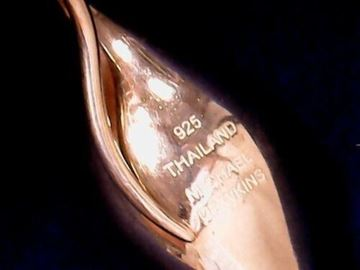 Picture of Michael Dawkins Teardrop Pendant