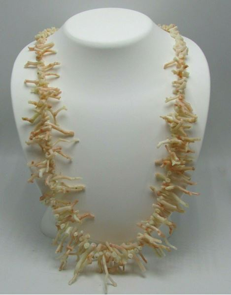"Picture of 22"" Branch Coral Necklace"