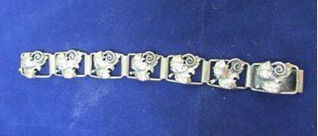Picture of Sterling Silver Leaf Panel Bracelet