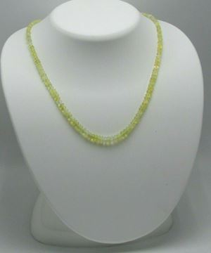 "Picture of 17"" Opal Necklace w/ 14K Gold Clasp"