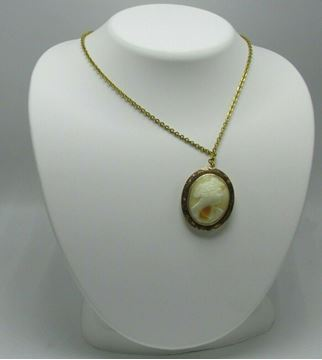 Picture of 14K Cameo Necklace/Brooch