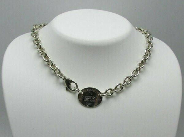 "Picture of 14.5"" Tiffany & Co. Sterling Silver Necklace"