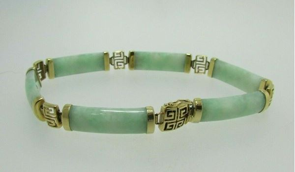 Picture of 14K Jade Bracelet