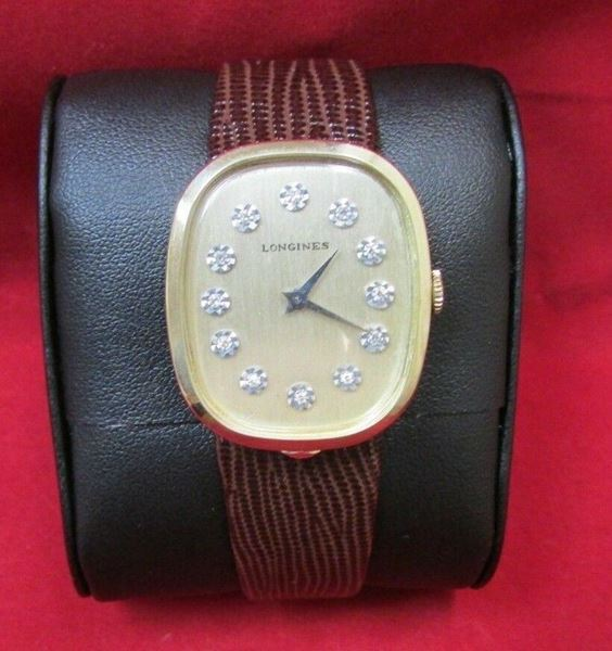 Picture of Longines 10K Gold Filled & Diamond Watch