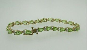 Picture of 10K Peridot Bracelet