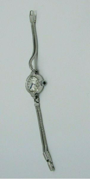 Picture of Gruen Platinum Diamond Ladies Watch