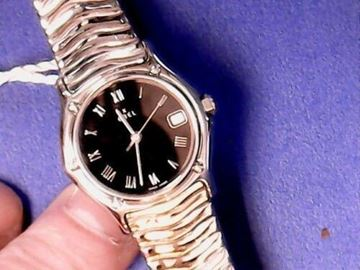 Picture of Ebel Black Dial Stainless Steel Ladies Watch