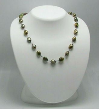 """Picture of 17 1/2"""" Fresh Water Pearl Necklace"""