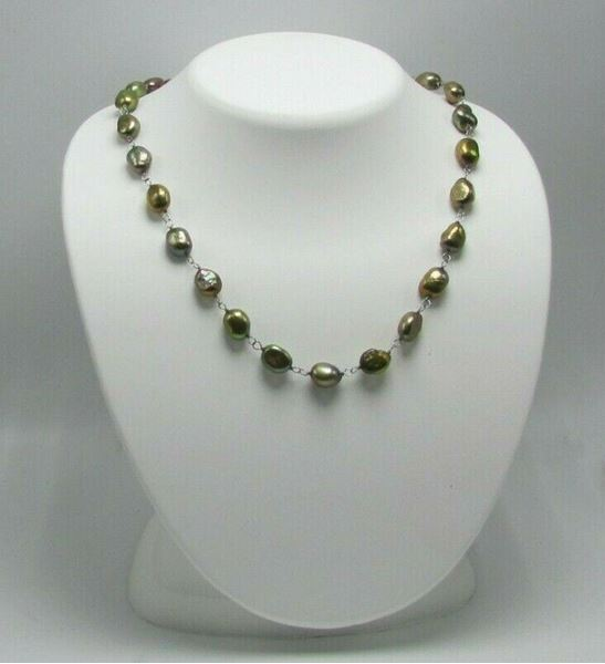 "Picture of 17 1/2"" Fresh Water Pearl Necklace"