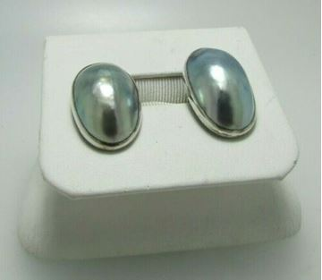 Picture of Sterling Silver Fresh Water Pearl  Earrings