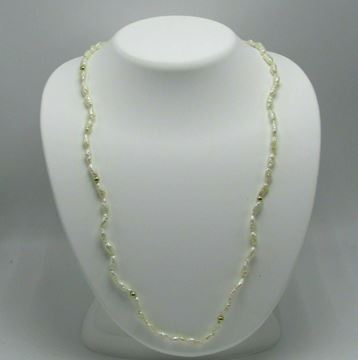 """Picture of 24"""" 14K Fresh Water Pearl Necklace"""