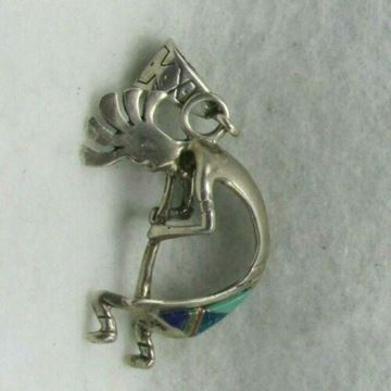 Picture of Sterling Silver Music Man Pendant