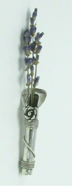 Picture of Sterling Silver Vase Brooch