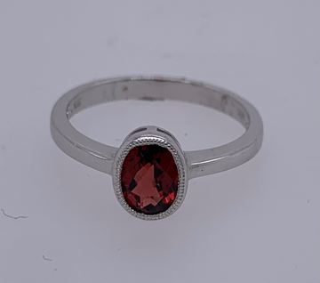 Picture of 14K Garnet Ring