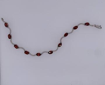 Picture of 14K Garnet Bracelet