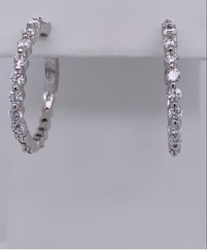 Picture of Valentine Sterling Silver Earrings